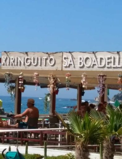 Bar de plage Cala Sa Boadella